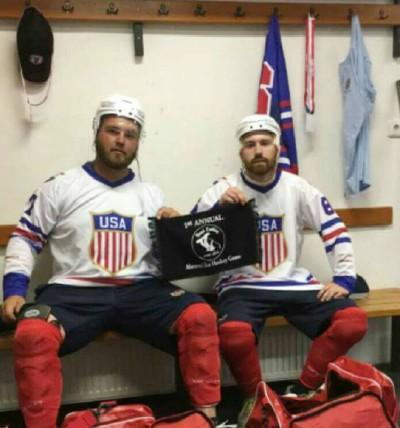 Former Fitchburg Monty Tech hockey players Connor Casacca 01e1ddb1e